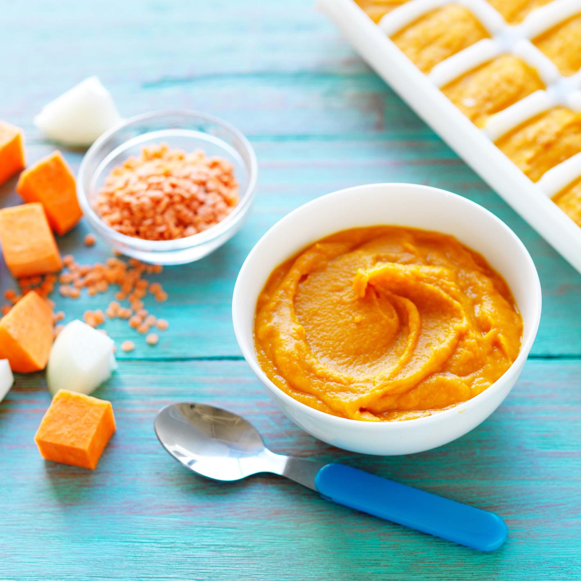 Australian sweet potatoes lentil and sweet potato puree for What is sweet potato puree