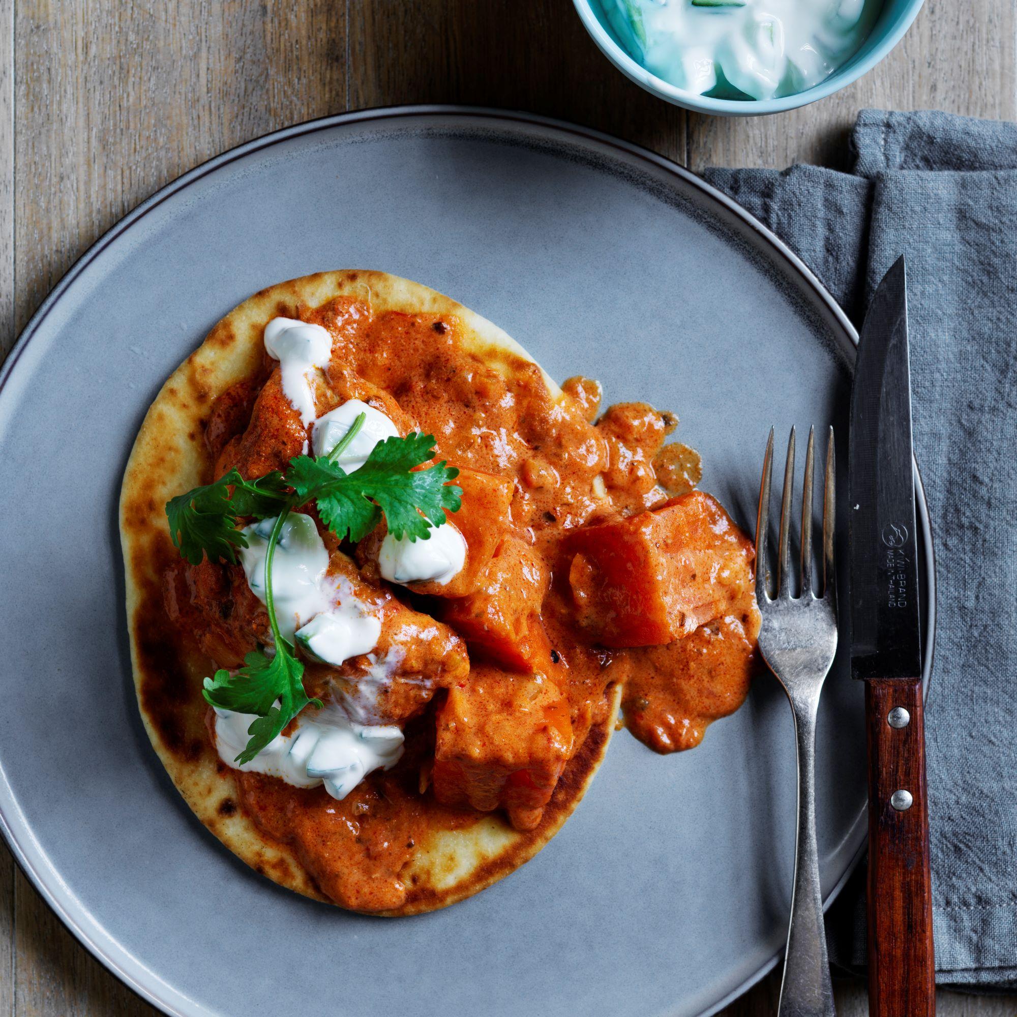 Butter chicken & sweet potato