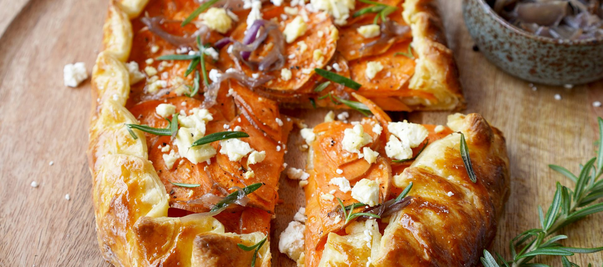 Crispy Sweet Potato Galette