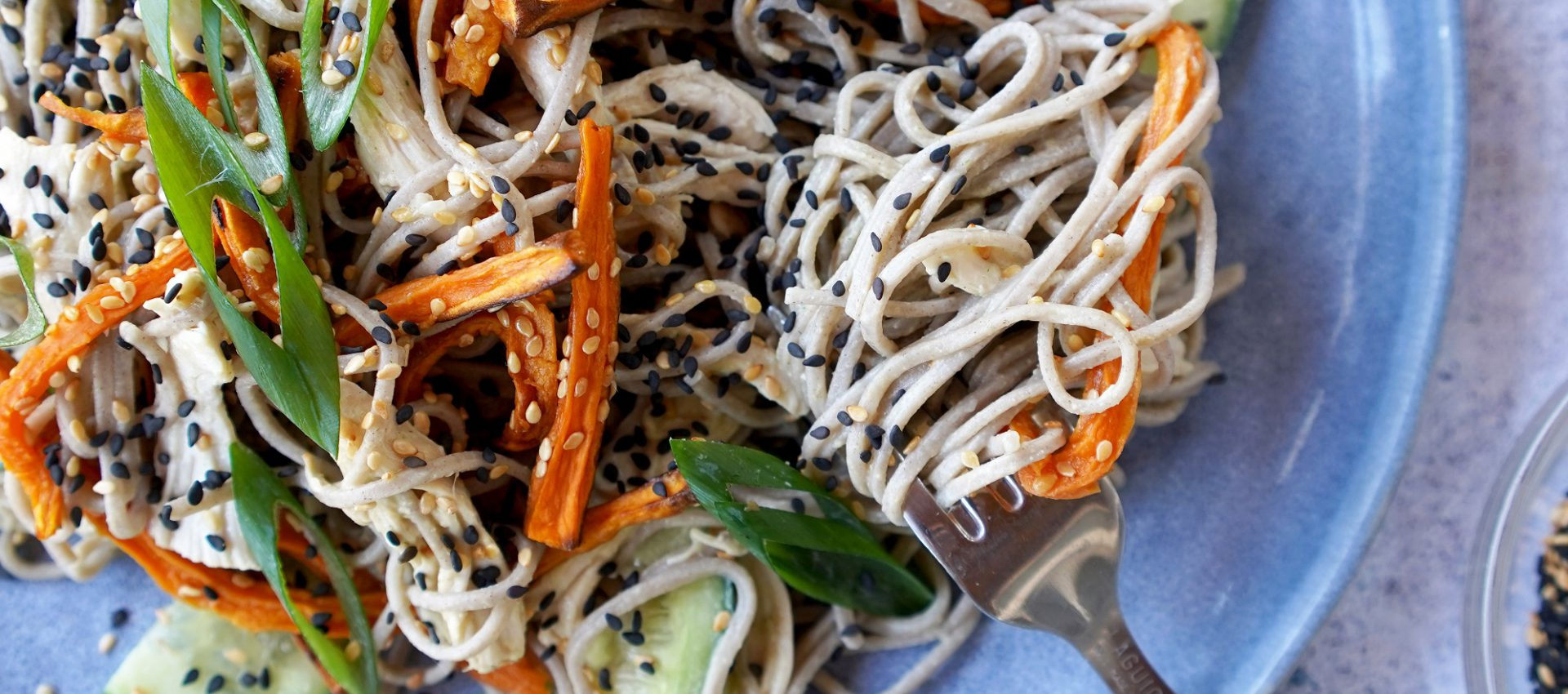 soba noodle salad